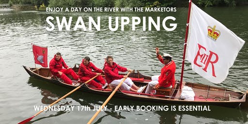 Join us on the River Thames at Henley to watch the Swan Upping ceremony