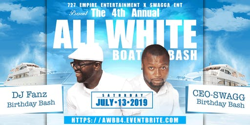 4th Annual All White Boat Bash