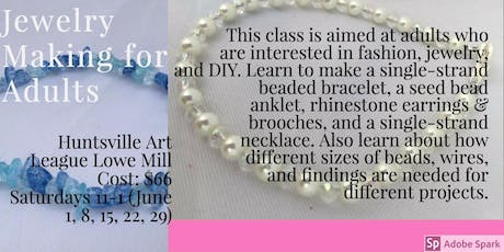 Jewelry Making for Adults tickets