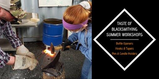 Taste of Blacksmithing - Summer Workshops