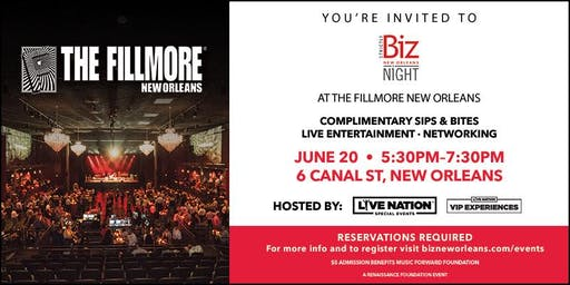 Biz Night with Live Nation