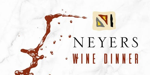 Wine Dinner: Neyers Vineyards Wine and Food Pairing