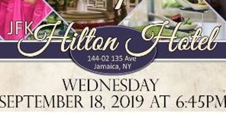 September 18th FREE BRIDAL SHOW at JFK Hilton in Jamaica , NY tickets