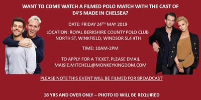 Filmed Polo Match with the Made in Chelsea cast!
