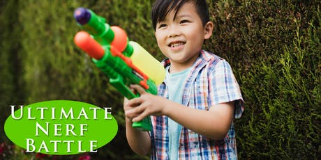 The Ultimate Nerf Battle - 11-13 years tickets