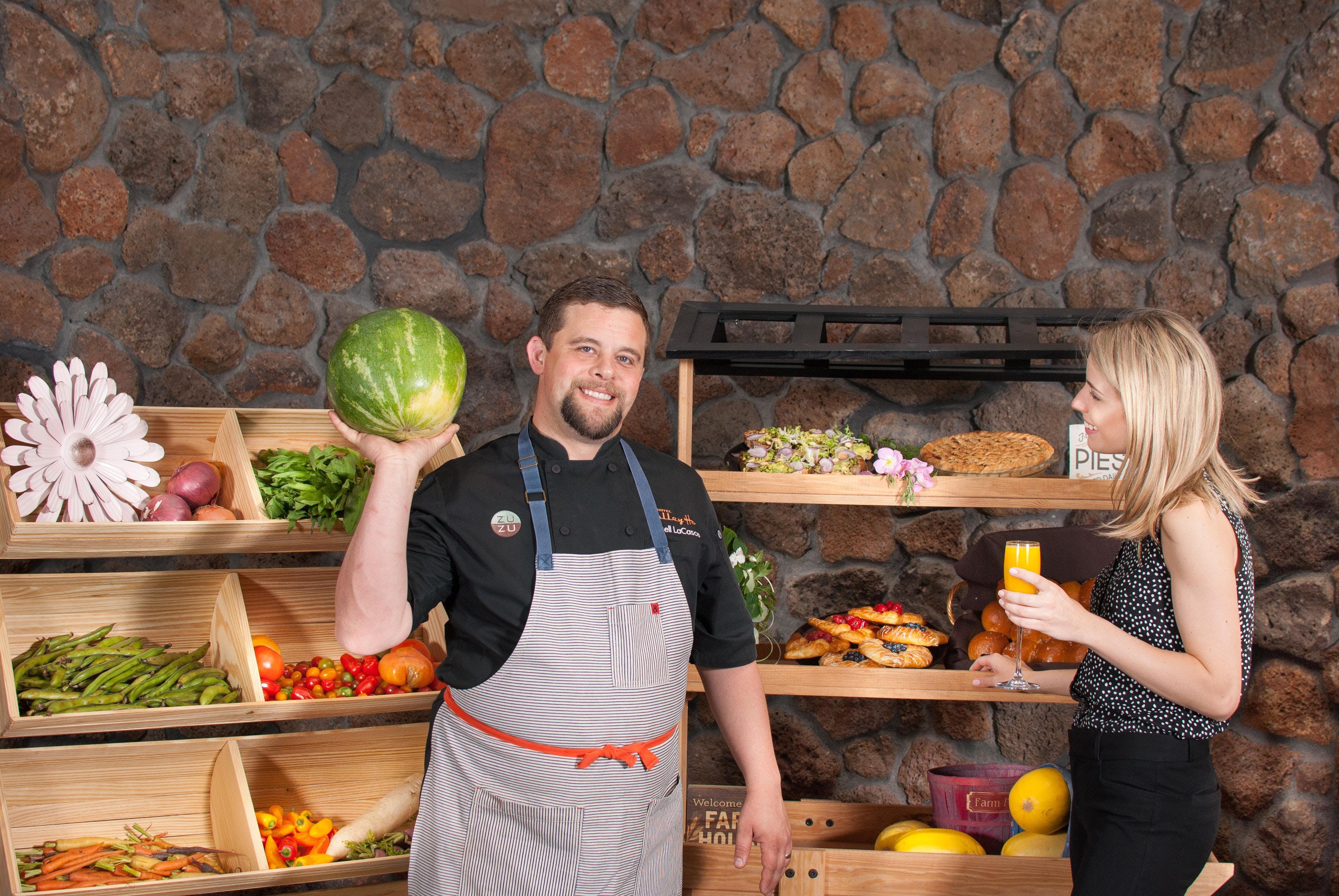 Chefs + Farmers Market Series