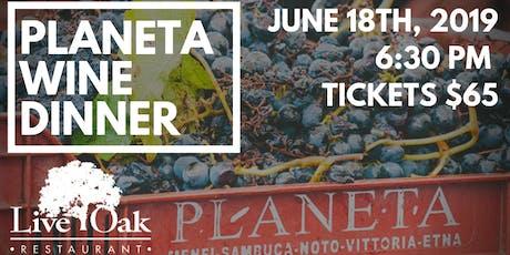 Planeta Wine Dinner on the Patio!  tickets