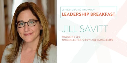 Leadership Breakfast: Jill Savitt