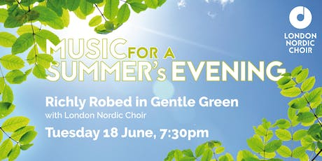 Music for a Summer's Evening with London Nordic Choir tickets