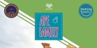 Ape-Family a Boscomantico