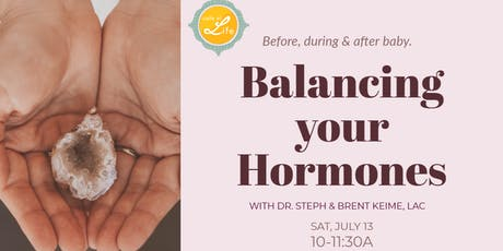 Balancing Your Hormones tickets