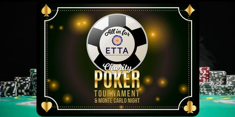 ALL IN FOR ETTA -  CHARITY POKER TOURNAMENT tickets