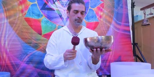 Concert méditatif - Bols et harpe de cristal