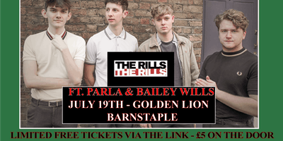 SMILE END PRESENTS: The Rills, Parla & Bailey Wills