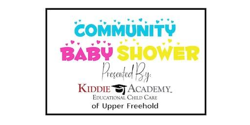 Kiddie Academy Community Baby Shower
