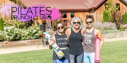 Pilates Brunch Club In The Vines {July}
