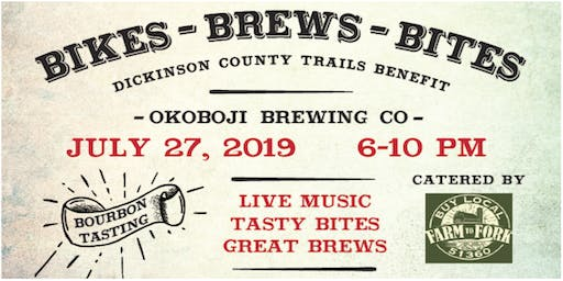 Bikes - Brews - Bites Dickinson County Trails Benefit