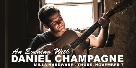 An Evening With Daniel Champagne tickets