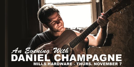 An Evening With Daniel Champagne