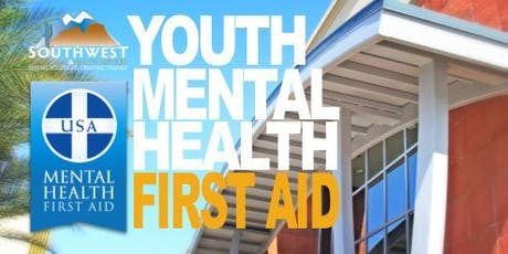 Youth Mental Health First Aid Training-SB&H-JULY 2019 tickets