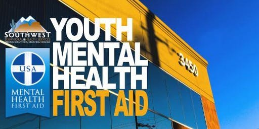Youth Mental Health First Aid Training-SB&H-OCTOBER 2019