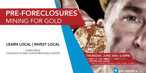 Pre-Foreclosures- Mining for Gold
