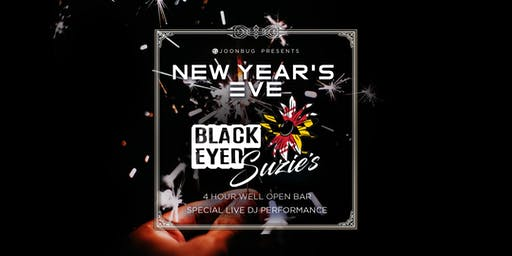 Black Eyed Suzie's New Years Eve Party 2020