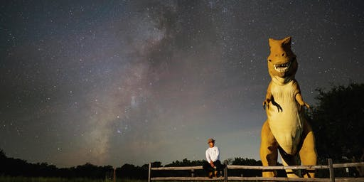 Shooting the Milky Way! (with Dinosaurs)