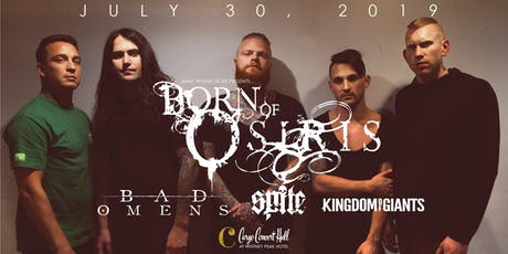 Born of Osiris at Cargo Concert Hall tickets