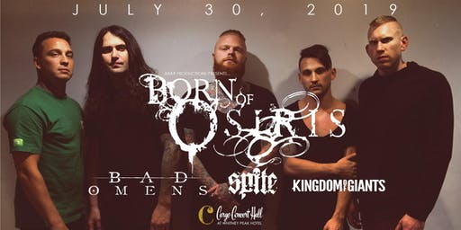 Born of Osiris at Cargo Concert Hall