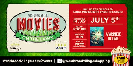 Movies on the Lawn – A Wrinkle In Time tickets