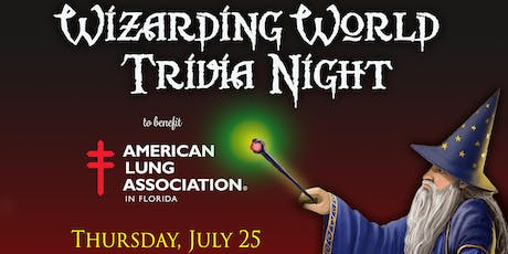 3rd Annual Wizarding World Trivia Night tickets