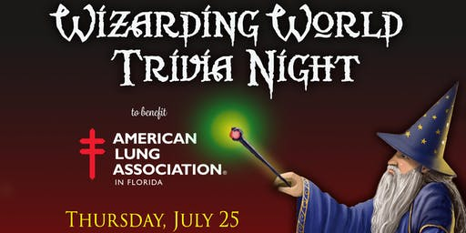 3rd Annual Wizarding World Trivia Night