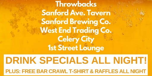 1st Annual Celebrate Life Organization Bar Crawl