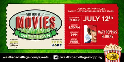 Movies on the Lawn – Mary Poppins Returns