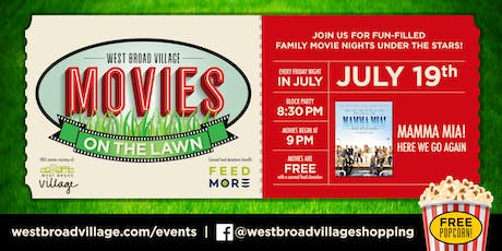 Movies on the Lawn – Mamma Mia! Here We Go Again tickets