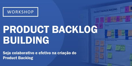 Product Backlog Building bilhetes