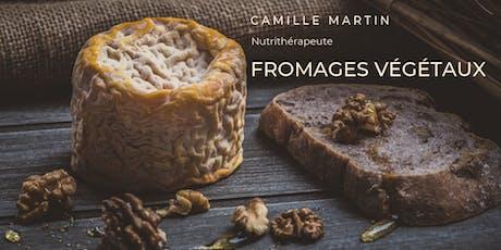 Fromages végétaux maisons; Les pâtes fermes et la mozzarella fraîche tickets