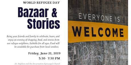 World Refugee Day Bazaar and Stories tickets