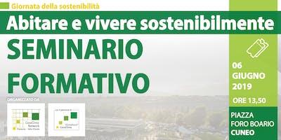 """Seminario Formativo """"La qualità CasaClima in edilizia"""""""