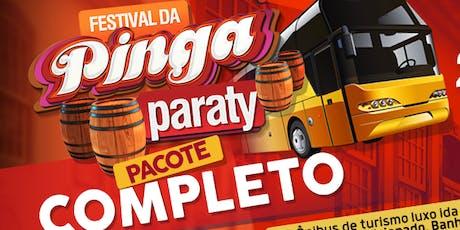 Excursão Festival da Pinga de Paraty 2019 ingressos