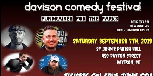 Davison Comedy Festival: A Fundraiser for the Parks
