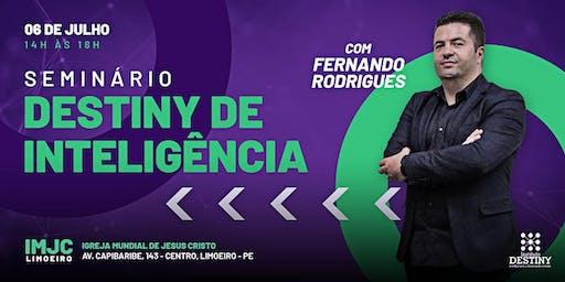 SEMINÁRIO DESTINY DE INTELIGÊNCIA - FERNANDO RODRIGUES