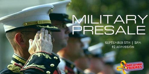 Military & First Responder Family Presale - JBF Roseville Fall 2019 $2 Admission (paid at the door)
