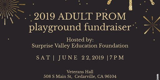 2019 Adult Prom - Playground Fundraiser