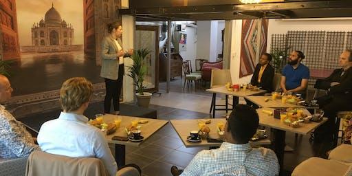Maandelijkse inspiratie Meetup Ondernemers Den Haag