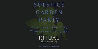 Solstice Garden Party