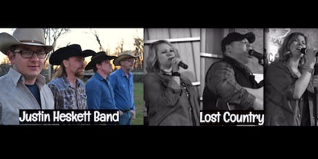 The Justin Heskett Band & Lost Country tickets