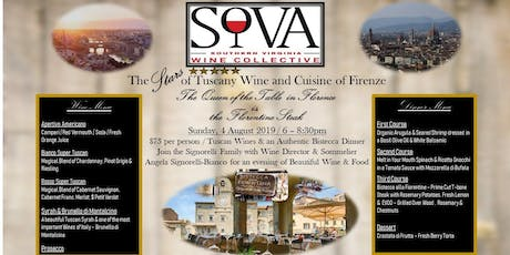 The Stars of Tuscany Wine Dinner tickets
