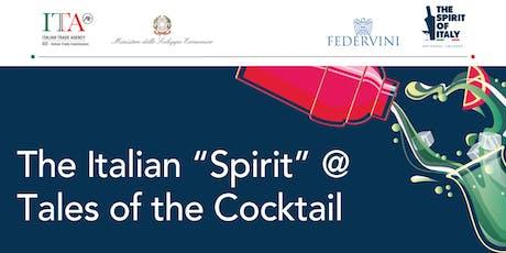 Art, Ingrendients and Alchemy: The Italian Spirit tickets
